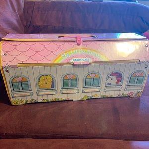 Vintage My Little Pony Carry Case